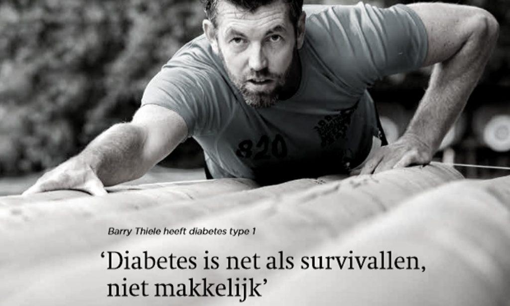 Publicatie Diactueel Diabetes is als survivallen.